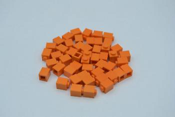 Preview: LEGO 50 x Basisstein 1x1 orange orange basic brick 3005 4173805