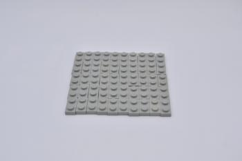 Preview: LEGO 50 x Platte 1x2 althell grau oldgrey gray plate vintage 3023 302302