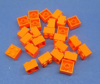 Preview: LEGO 25 x Basisstein orange 2x2 orange basic brick 3003 4153825