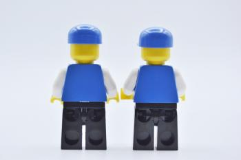 Preview: LEGO 2 x Figur Minifigur Fußballer Sports Soccer soc128 aus Set 3570