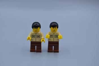 Preview: LEGO 2 x Figur Minifig Shirt with 2 Pockets cty112 City aus Set 7724