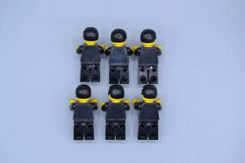 Preview: LEGO 6 x Figur Minifig Leather Jacket with Zippers lea001 Town aus Set 6561
