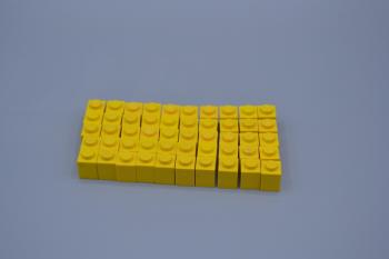 Mobile Preview: LEGO 50 x Basisstein 1x1 gelb yellow basic brick 3005 300524