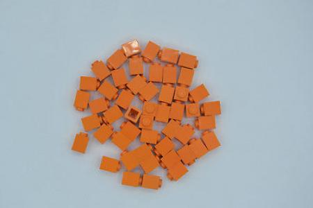 LEGO 50 x Basisstein 1x1 orange orange basic brick 3005 4173805