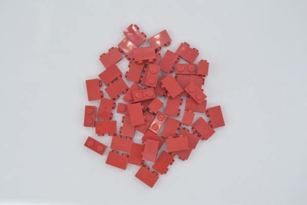 LEGO 50 x Basisstein 1x2 rot red basic brick 3004 300421 4613961