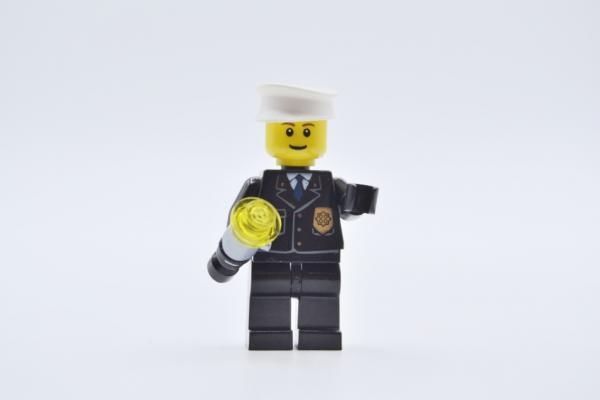 LEGO Figur Minifigur cop045 Polizist City Police Light UP funktioniert worked