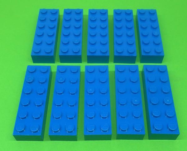 alt dunkelgrau 3020 Plate 2x4 4211065 LEGO Bausteine & Bauzubehör LEGO Bau- & Konstruktionsspielzeug 9x Lego System Platte 2 x 4